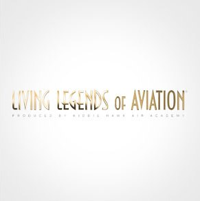 "Inducted into the ""Living Legends of Aviation"""