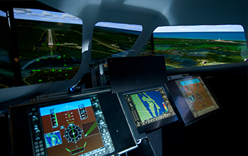 SNC's Dream Chaser Cockpit Flight Simulator