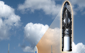 Rendering of Launch of SNC's Dream Chaser Cargo System Aboard an Atlas V Rocket