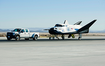 SNC's Dream Chaser Completes 60mph Tow Test at NASA's Dryden Flight Research Center