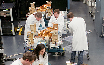 SNC Spacecraft Production Line