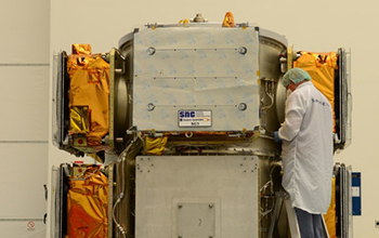 All Six OG2 Spacecraft Installed on the ESPA