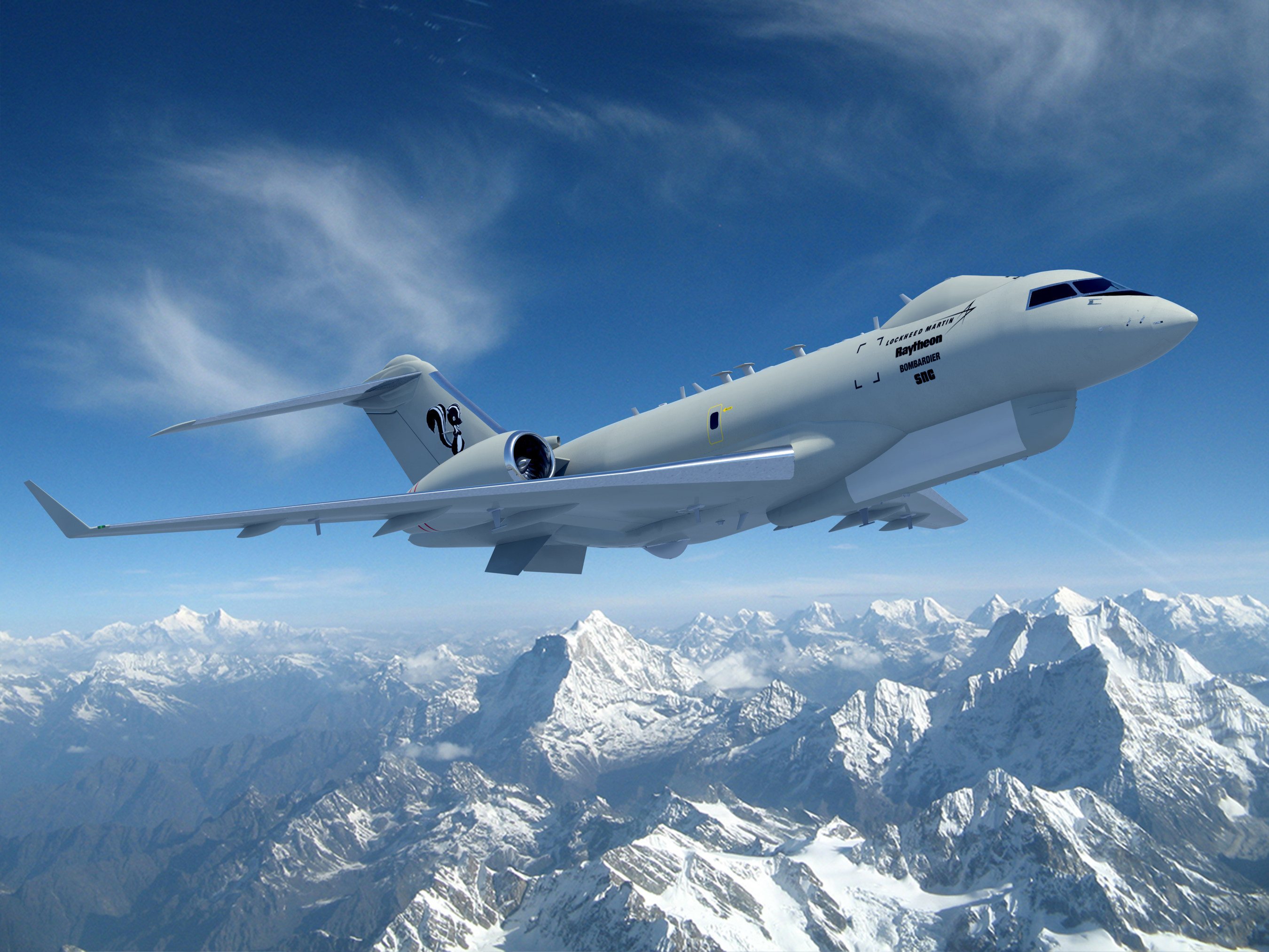 Sierra Nevada Corporation Joins Lockheed Martin Skunk Works® JSTARS Recap Team