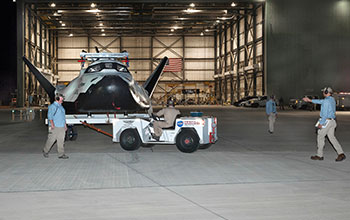SNC's Dream Chaser® Spacecraft - 2017 Captive Carry Test (1)