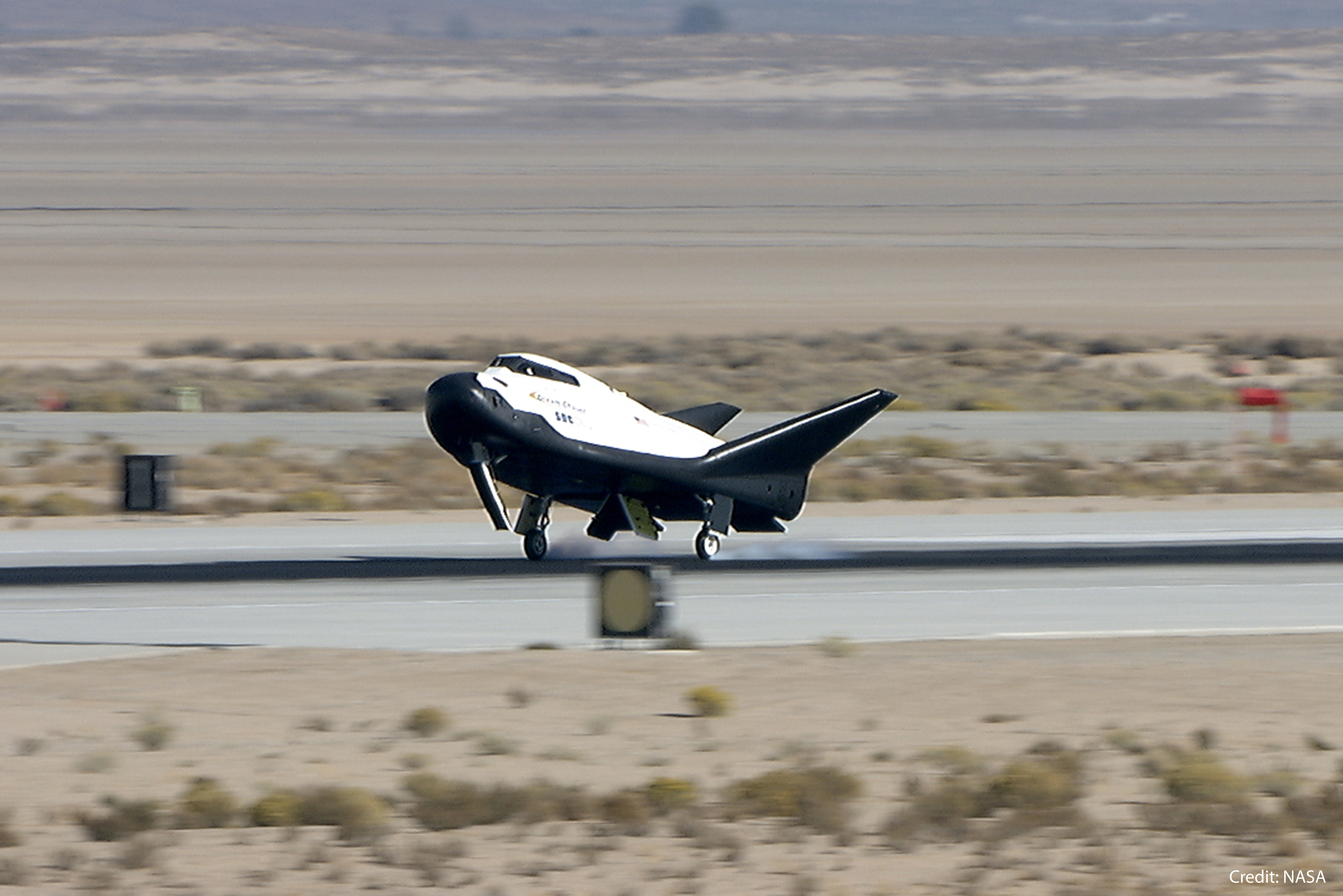 SNC Dream Chaser Free Flight Landing Test