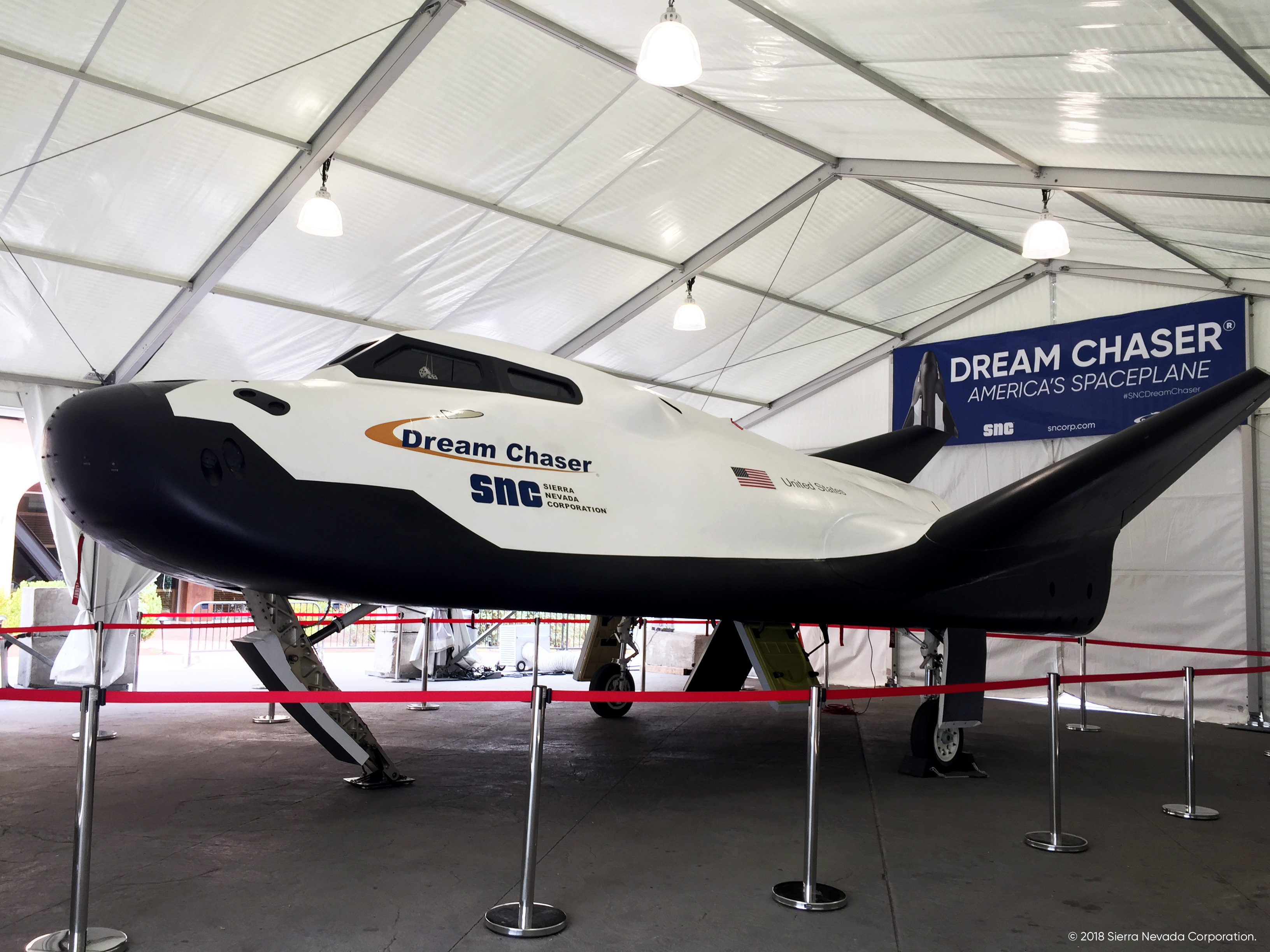 SNC Dream Chaser at 34th Space Symposium