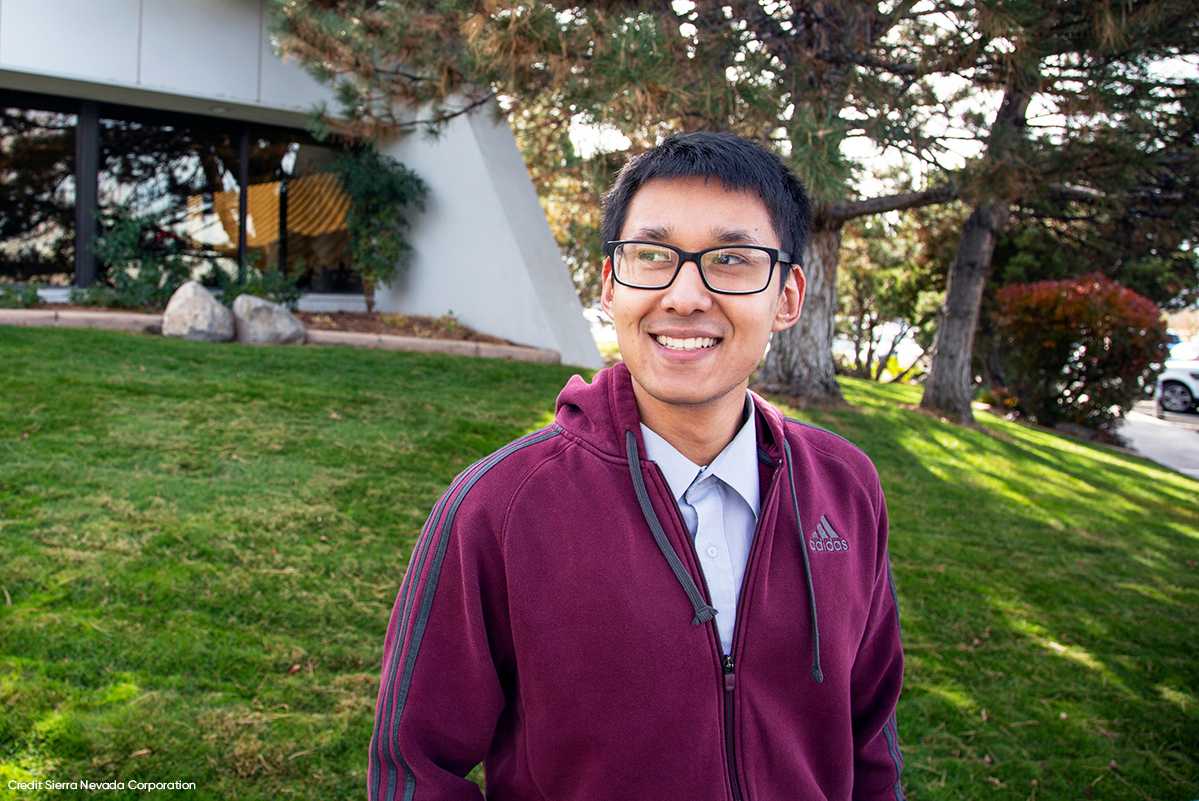 Sierra Nevada Corporation - Kripash Shrestha, Software Engineering Intern