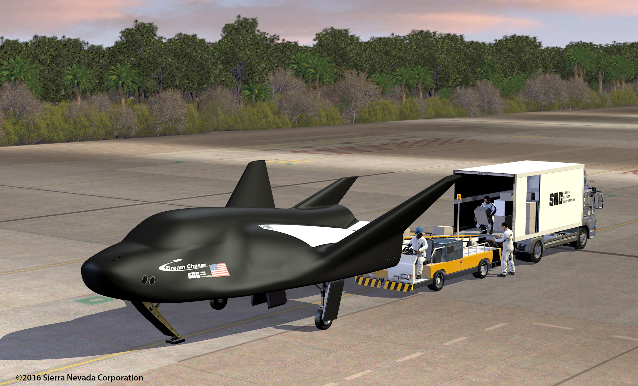 SNC Dream Chaser Spacecraft