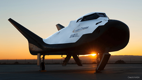 The SNC Dream Chaser multi-mission space utility vehicle