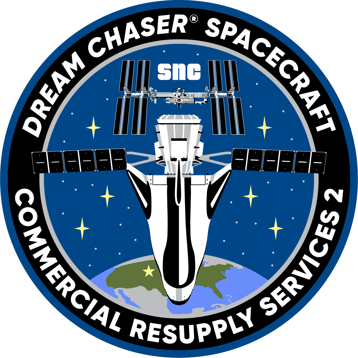 SNC Dream Chaser CRS-2 Program Patch