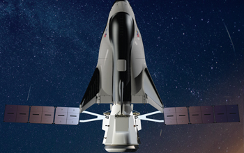 Dream Chaser with Shooting Star Rendering