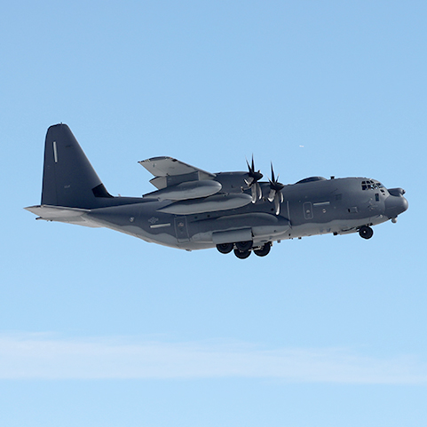 SNC Delivers First AbMN-Modified MC-130J to AFSOC