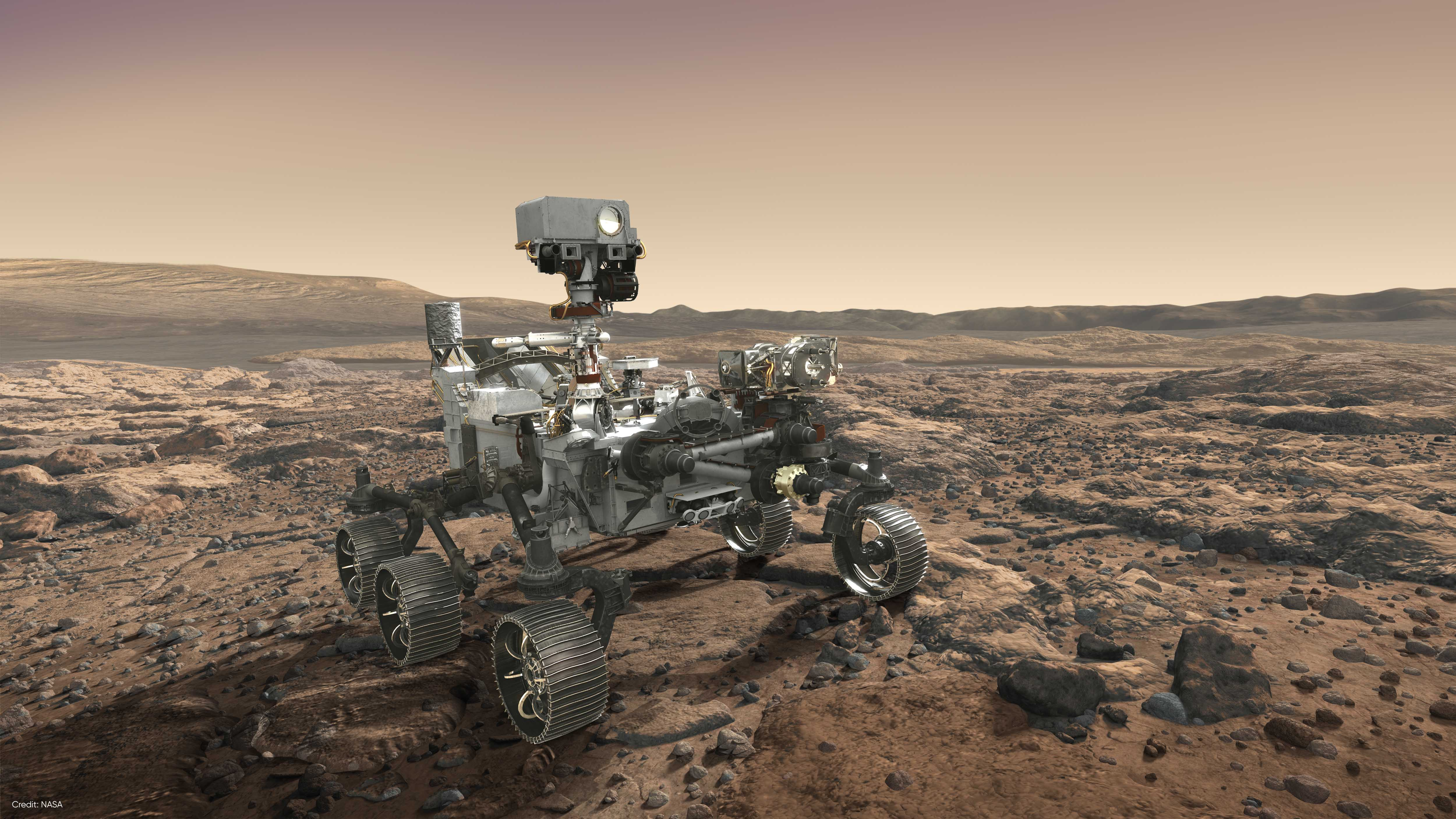 Mars 2020 Perserverance Rover