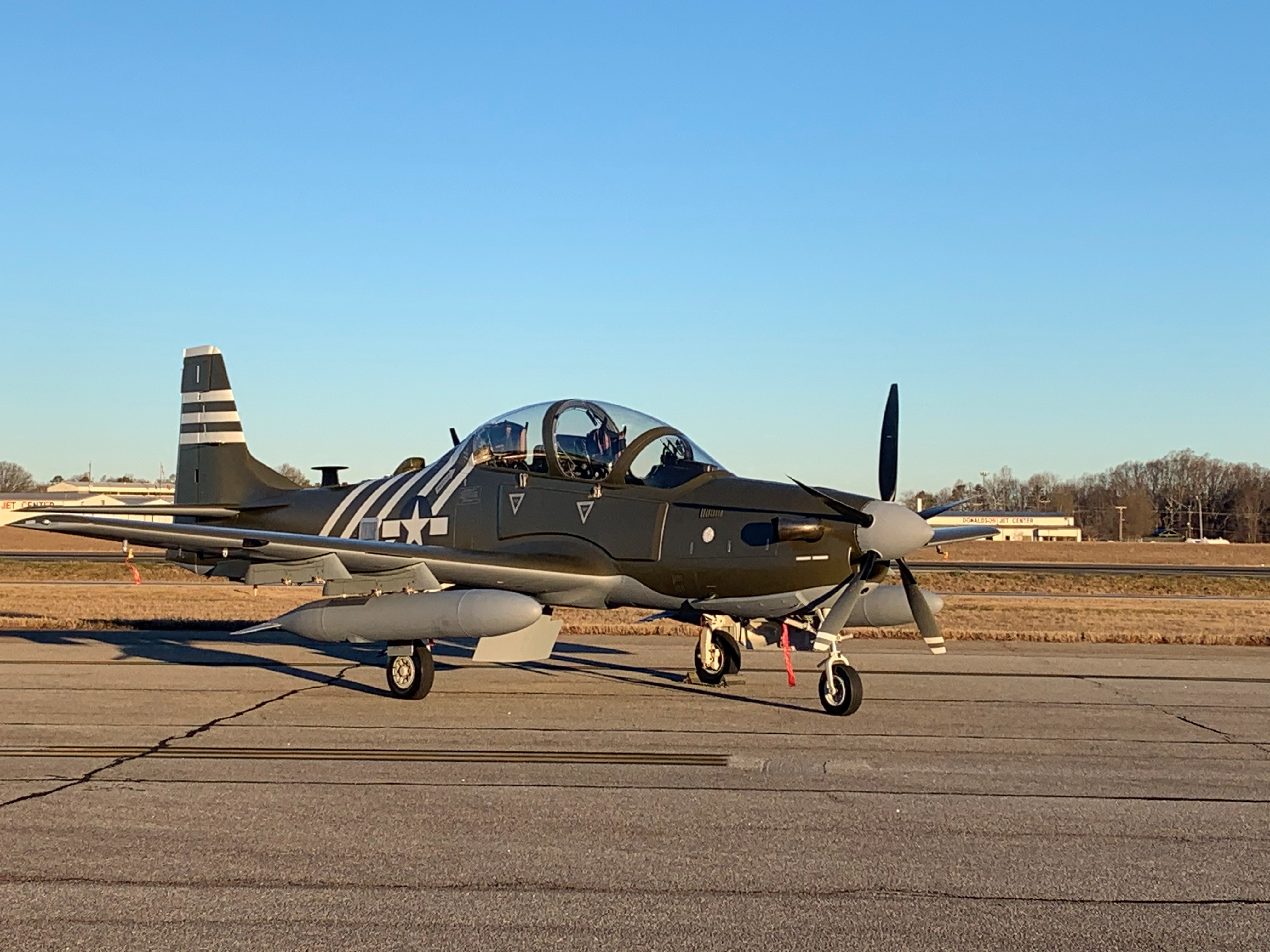 SNC Embraer A-29 for AFSOC