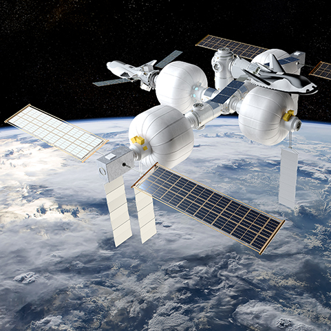 SNC Details for LEO Commercialization and Commercial Space Station
